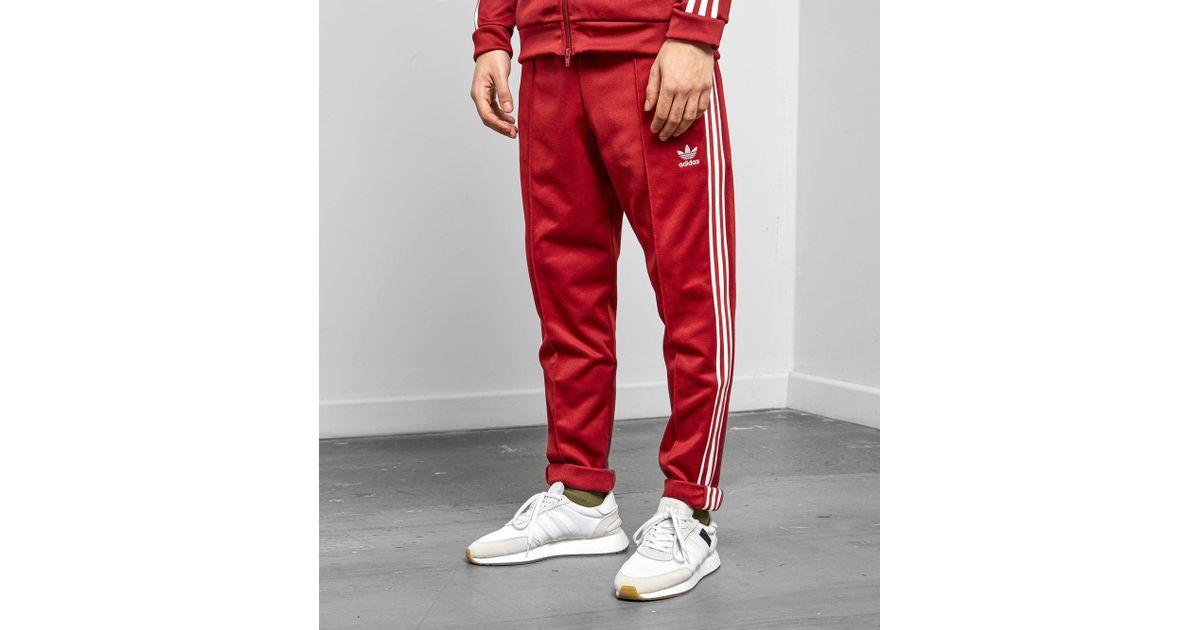 adidas Originals Beckenbauer Track Pants | Red | Training