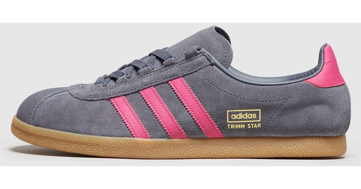 Lyst - adidas Originals Trimm Star - Size  Exclusive in Gray for Men 4805c1869