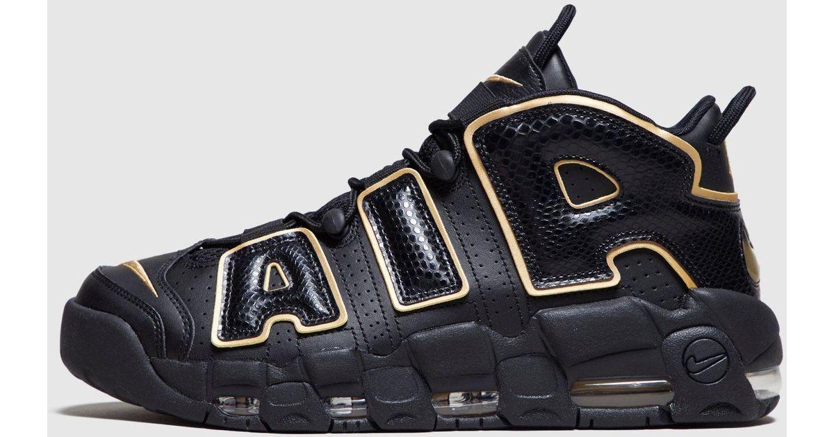 f820429135b47 Lyst - Nike Air More Uptempo 96  france  in Black for Men