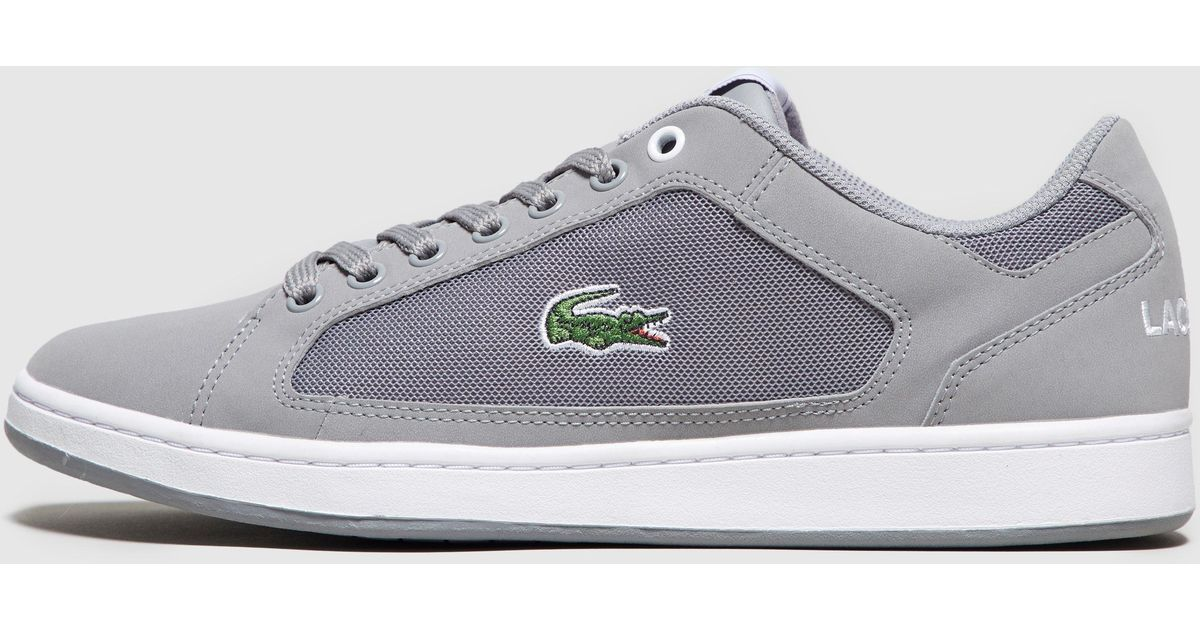 3cd2cb093698d Lyst - Lacoste Nistos in Gray for Men
