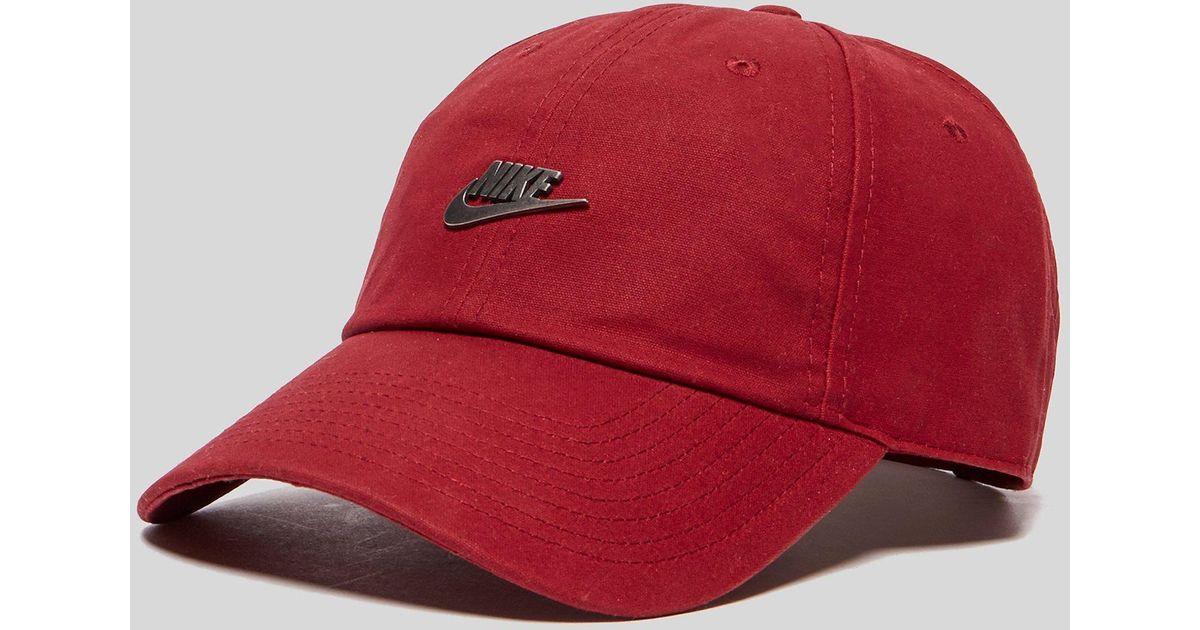 616c9ae1c1d ... netherlands lyst nike hook cap in red for men c62d8 23ef9