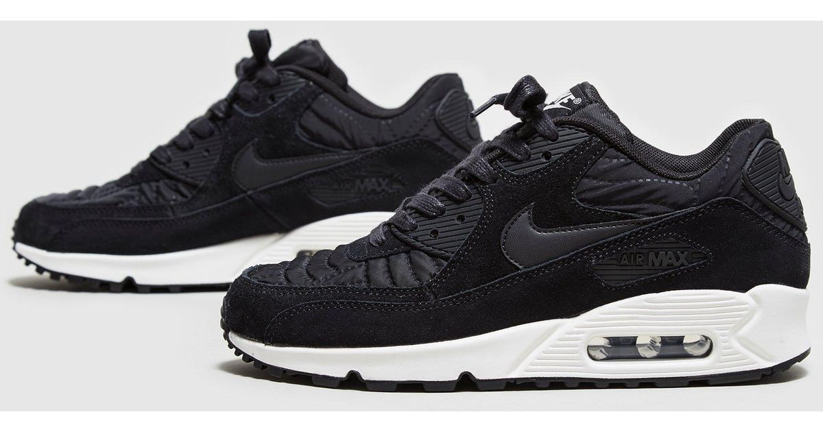 online store 65385 7f558 ... Lyst - Nike Air Max 90 Quilted Women s in Black ...