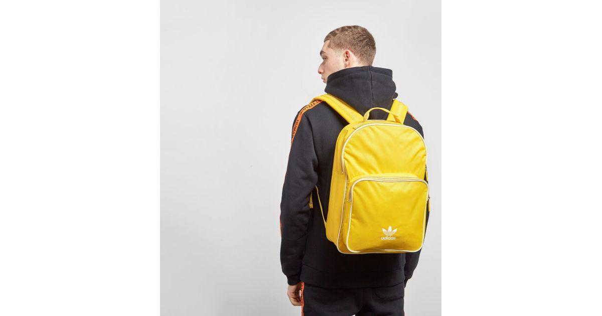 Lyst - adidas Originals Adicolor Backpack in Yellow