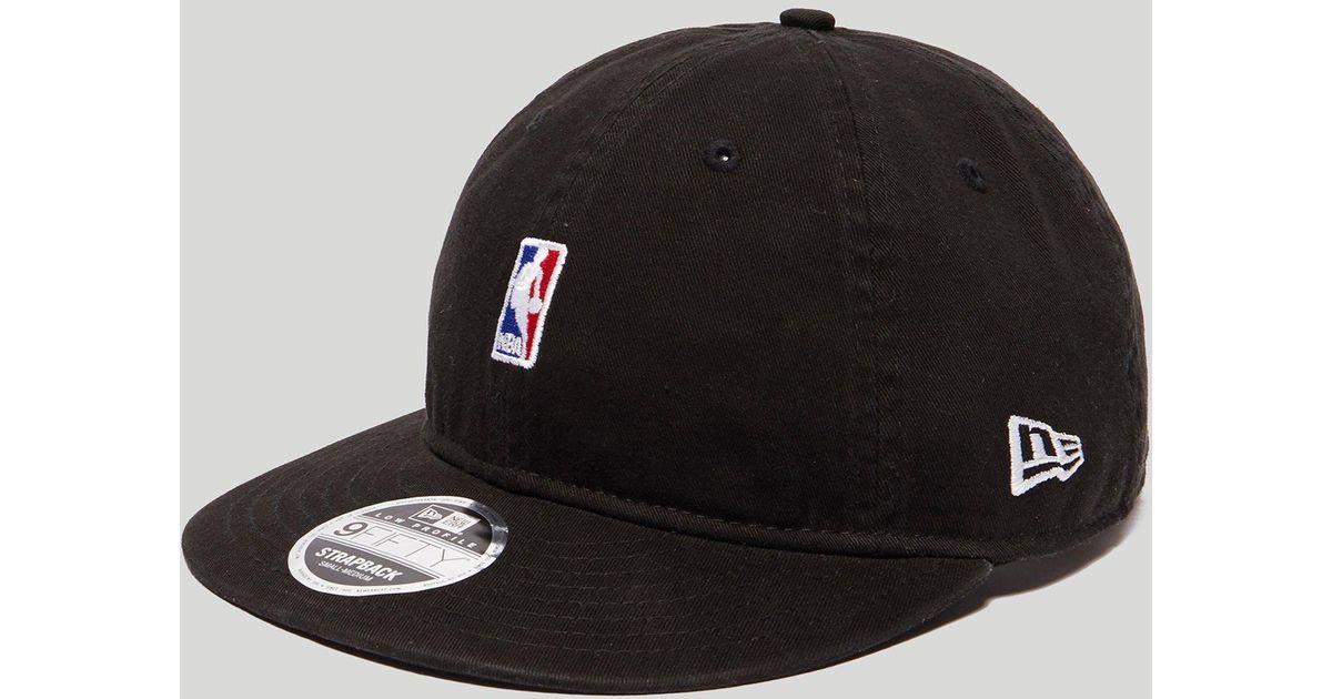 Lyst - Ktz 9fifty Low Nba Logo Cap in Black for Men 83e10259f