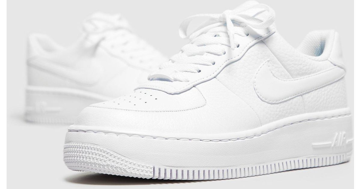 best sneakers 276c1 2bf53 Nike Air Force 1 Upstep Women s in White - Lyst