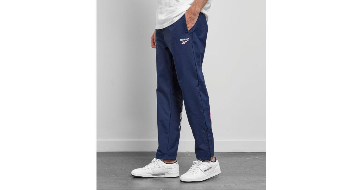 2359df5946d6d9 Reebok Lf Track Pants in Blue for Men - Lyst