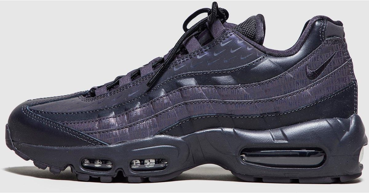 6afc4565fc100 Lyst - Nike Air Max 95  stealth  Women s in Black