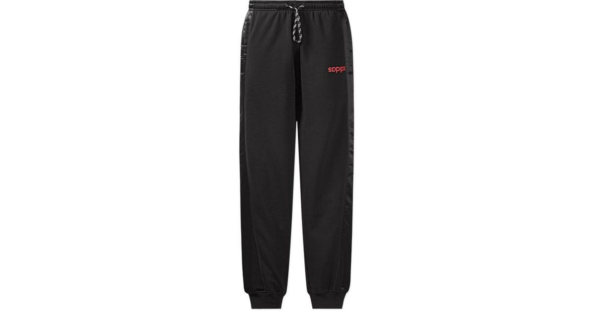 5ad4afd451e09c Lyst - Adidas Originals Alexander Wang Jogger Pants in Black for Men