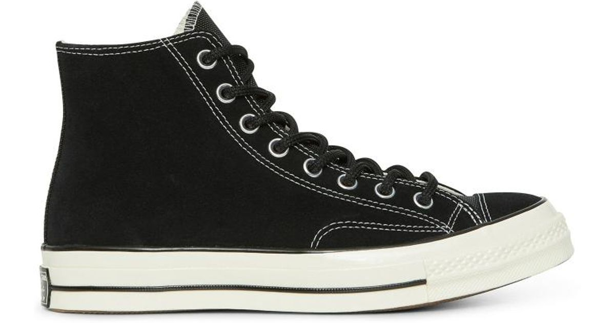 c95d084dccf103 Lyst - Converse Chuck Taylor 70 Hi Base Camp Suede Sneakers in Black - Save  32%