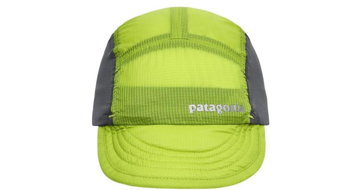 Lyst - Patagonia Airdini Cap in Green for Men 8e940670ac8