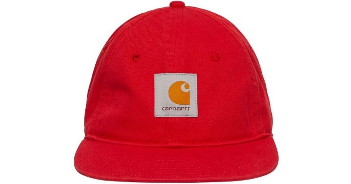 Carhartt WIP Paccbet Cap in Red for Men - Lyst 064b2a09f57