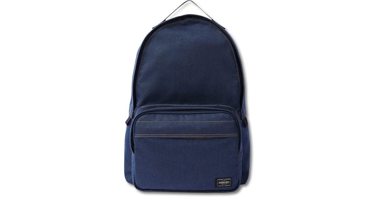 Lyst - Head Porter Indigo Day Backpack in Blue for Men 2d476e450e