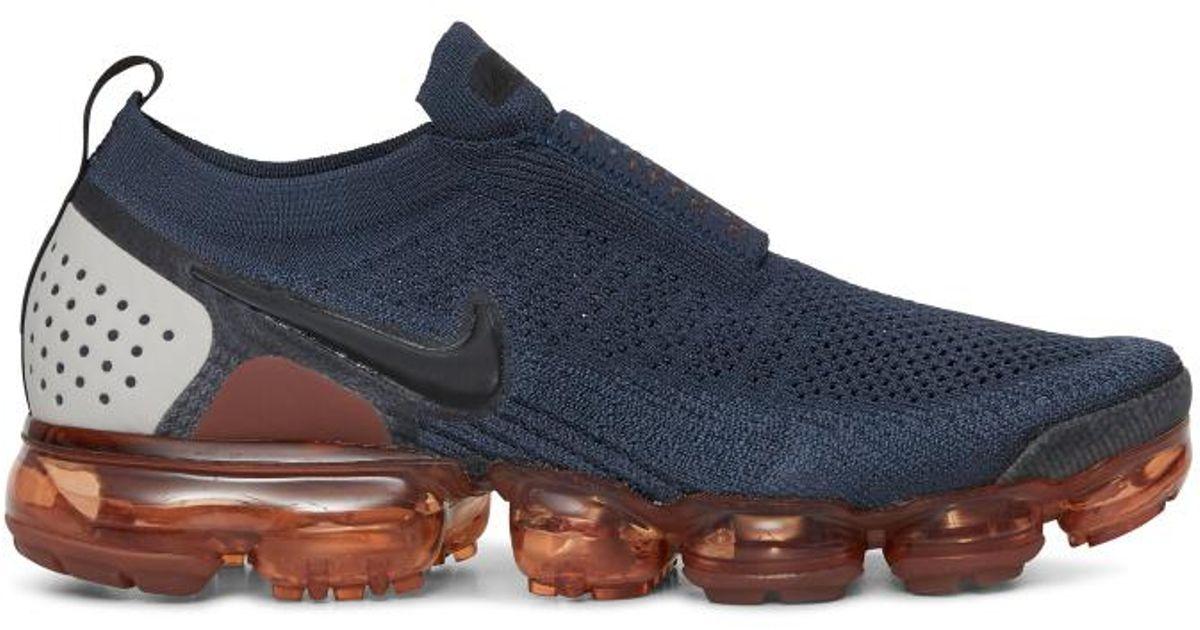 b03eea82de67 Lyst - Nike Air Vapormax Flyknit Moc 2 Shoe in Blue for Men