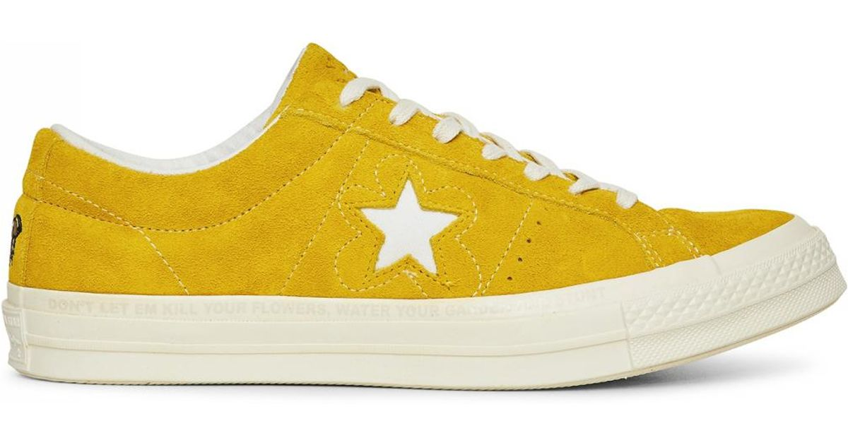 Lyst Converse Golf Le Fleur One Star Sneakers In Yellow