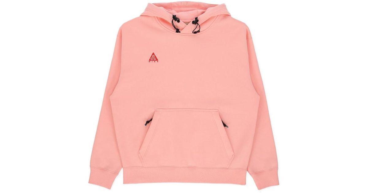 quality design 7b0ec 04288 Lyst - Nike Hooded Sweatshirt in Pink for Men