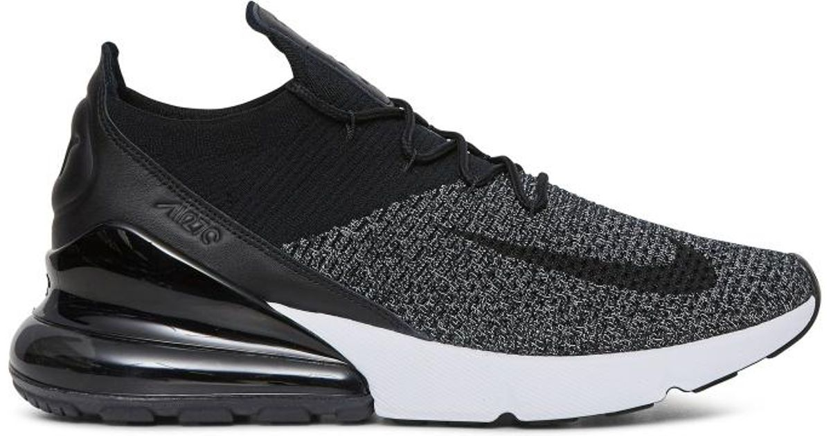 Lyst - Nike Air Max 270 Flyknit  oreo  Sneakers in Black for Men 6300ed50e