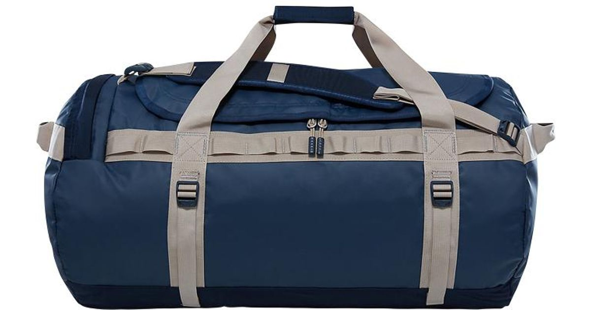 00fb793d4285 Lyst - The North Face Base Camp Duffle Bag Large in Blue for Men