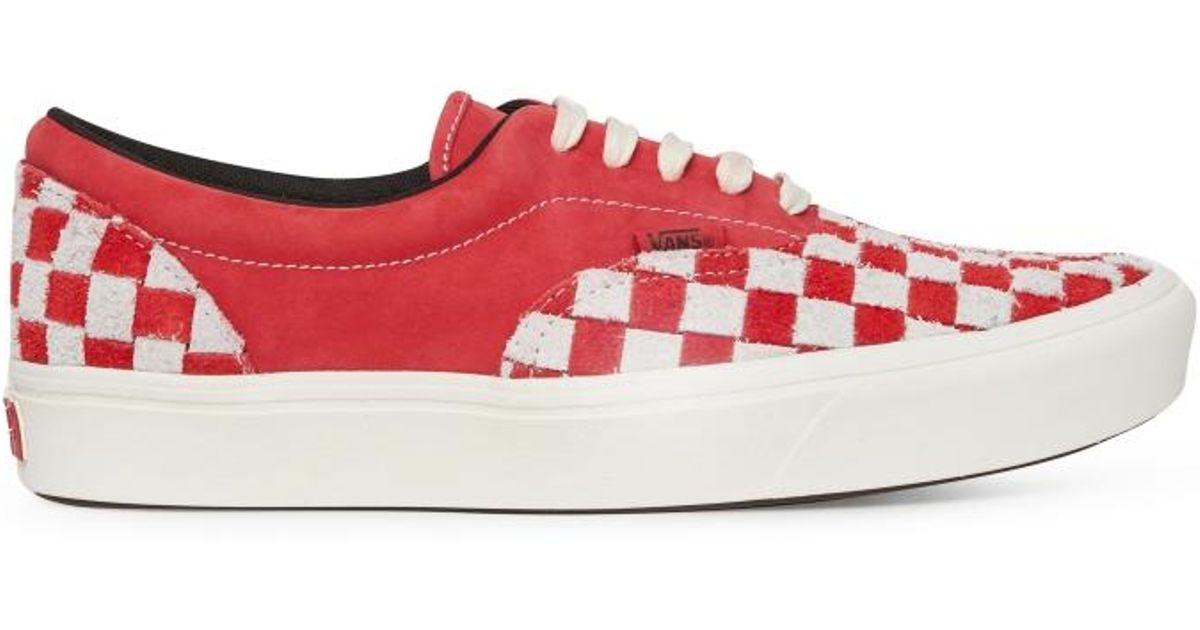 07debb588a1 Vans Anaheim Factory Authentic Comfycush Era Lx Sneakers in Red - Lyst
