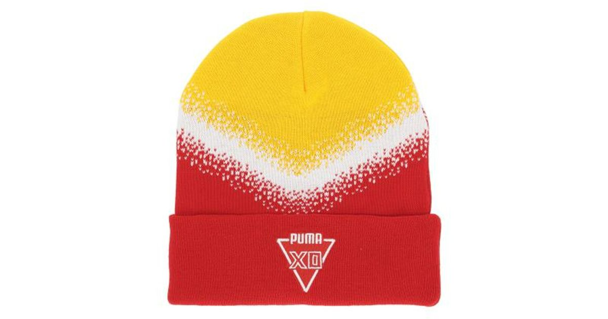 Lyst - PUMA Xo Homage Beanie for Men 75535e63d9cb