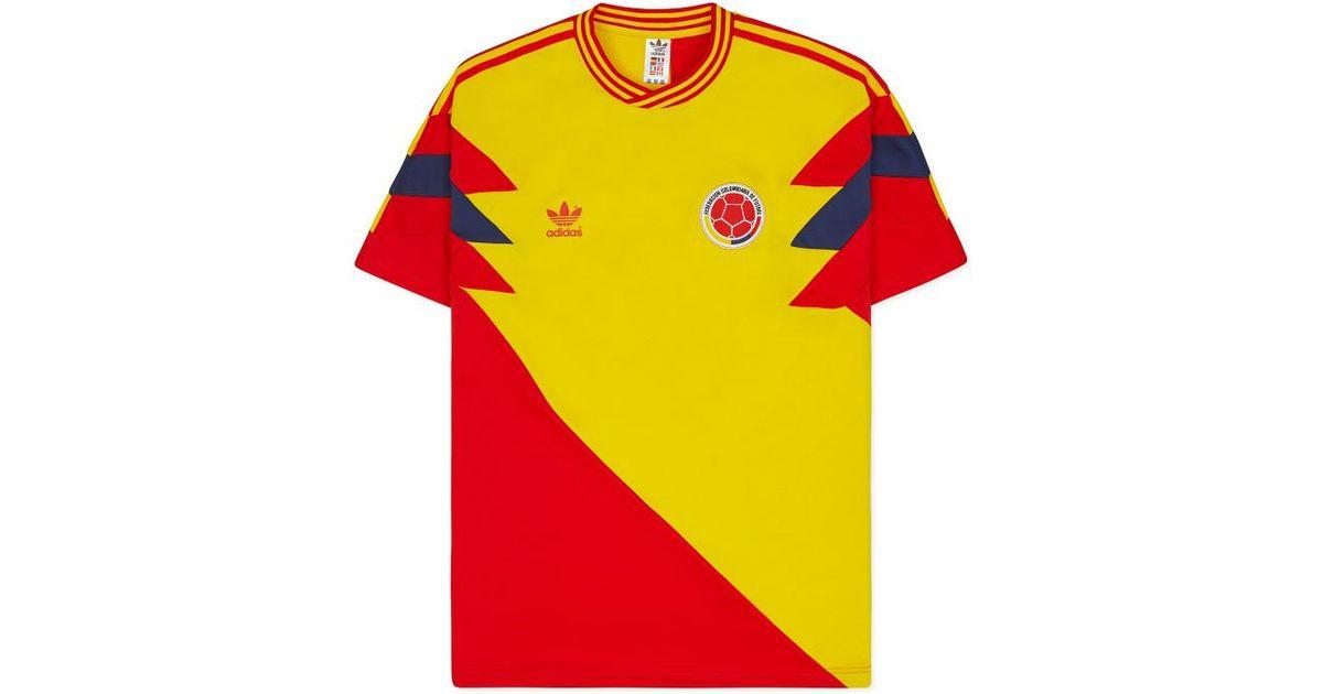 c1733f889 adidas Originals Colombia Mash-up T-shirt for Men - Lyst