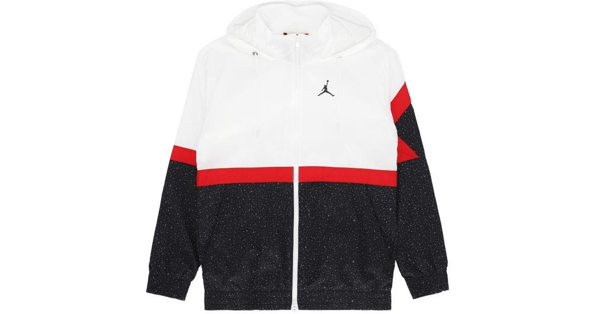 27f1adfe28e Nike Diamond Cement Jacket White/black/gym Red for Men - Lyst