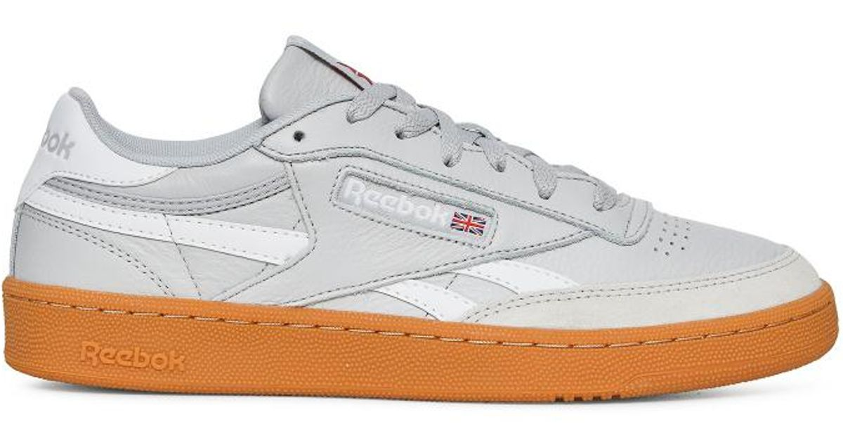 9ad3e10a88d Lyst - Reebok Revenge Plus Gum Sneakers