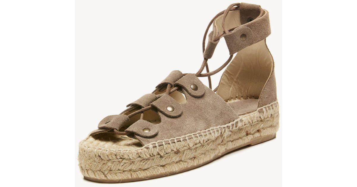 7cd305873f54 Lyst - Soludos Ghillie Platform Sandal Platform Sandal