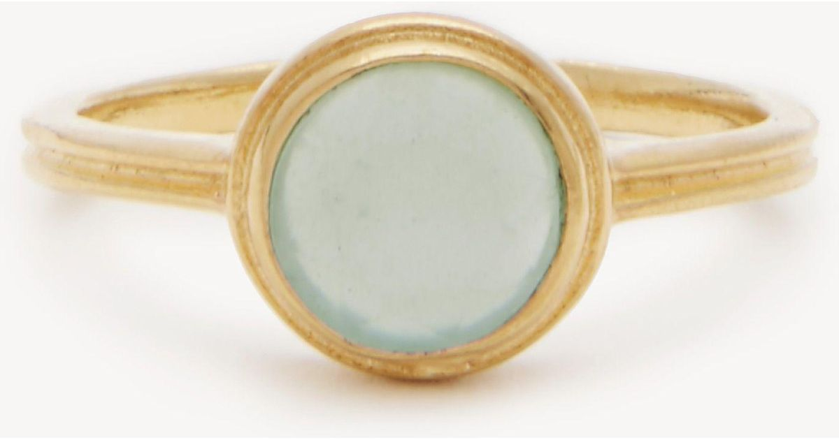 Sole Society Womens Buttercup Ring Chalcedony One Size From Sole Society yaVR83Gsk