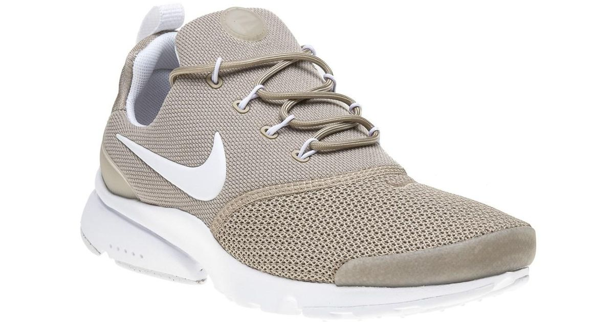 5f6dff1a3 Nike Presto Fly Trainers in White - Lyst
