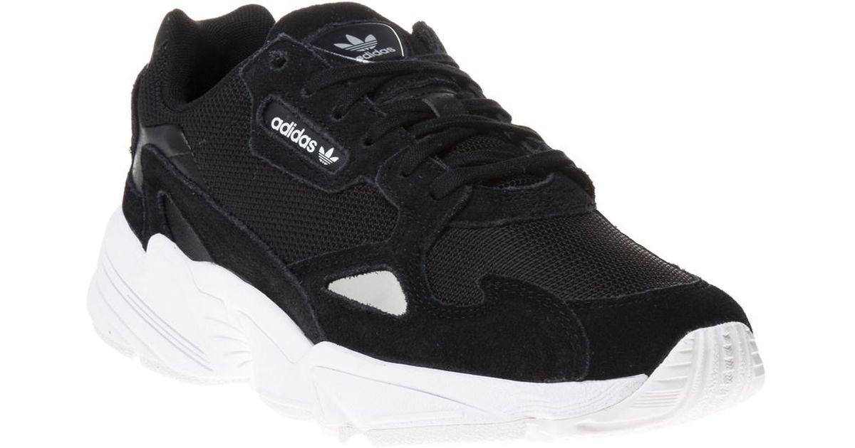 adidas Falcon Trainers in Black for Men - Lyst 508dfe1e4