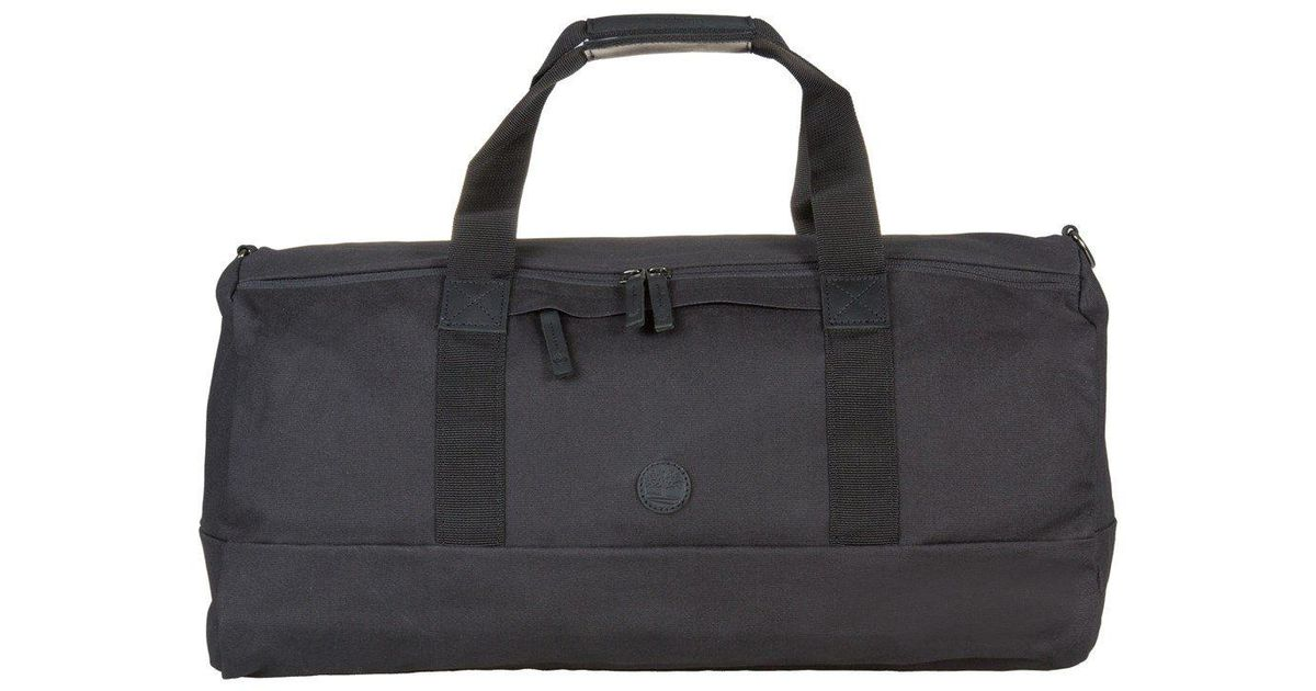 1acb53c8d5 Timberland Canvas Holdall in Black for Men - Lyst