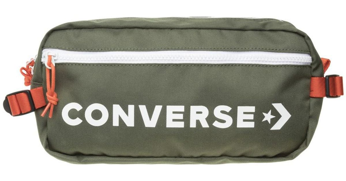 Converse Retro Fanny Pack In Green in Green for Men - Lyst 71c27a6dd99e9