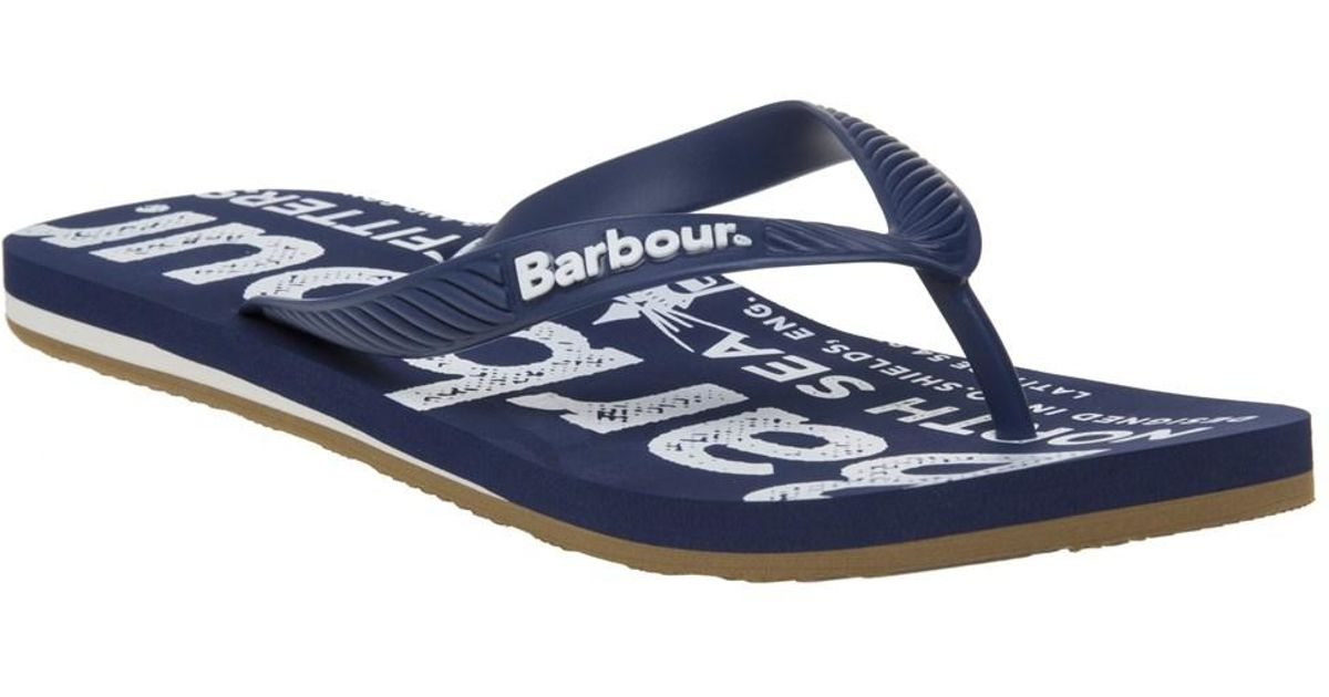45ae749d8926 Barbour North Sea Beach Sandals in Blue for Men - Lyst