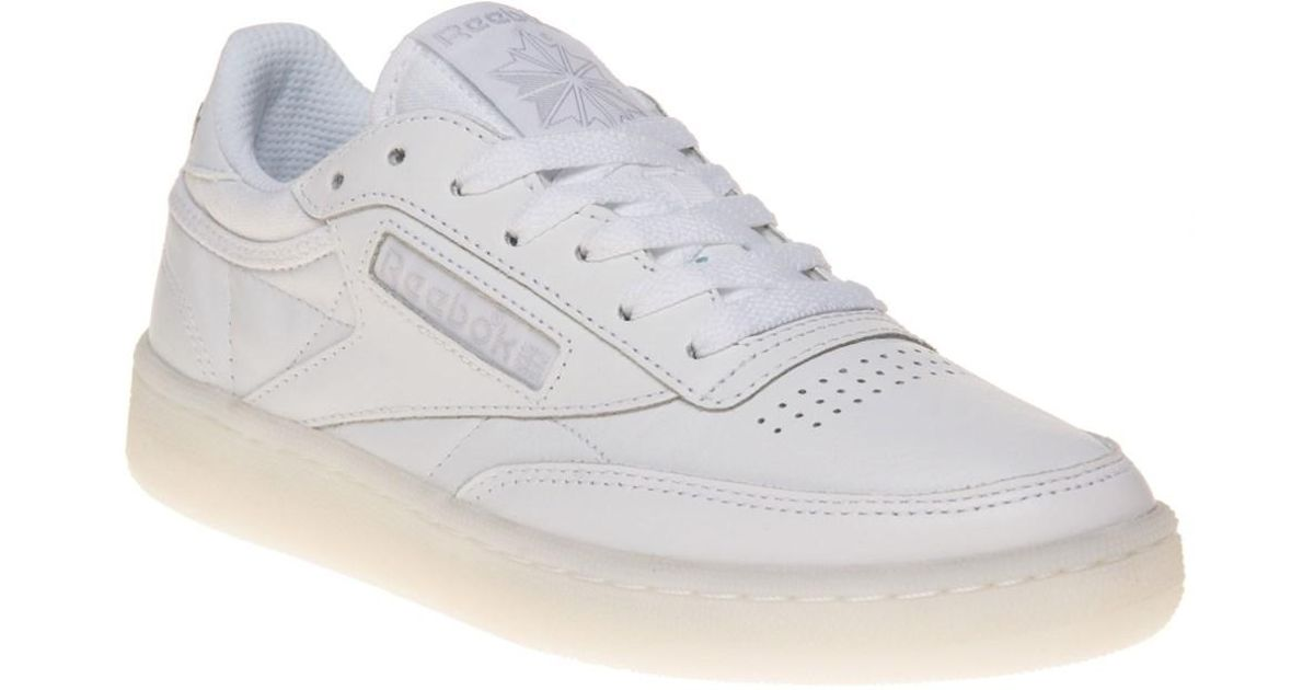 51e80e42af43d0 Reebok Club C 85 Trainers in Gray - Lyst