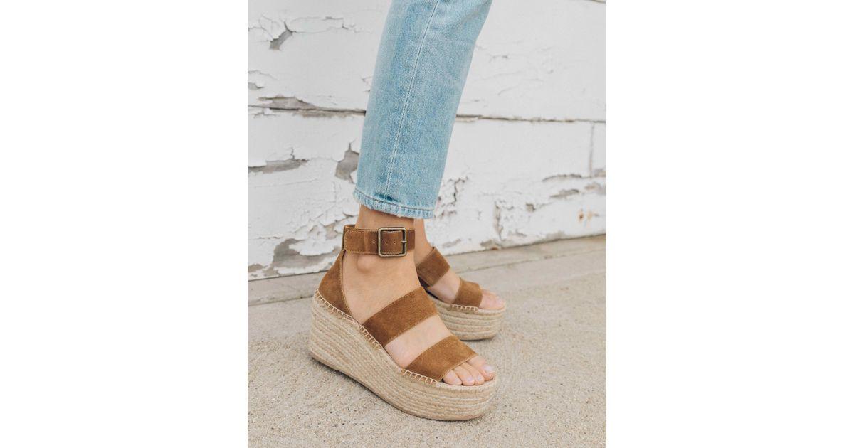 e3f693e66f2 Soludos Palma Platform Sandal in Blue - Save 1% - Lyst