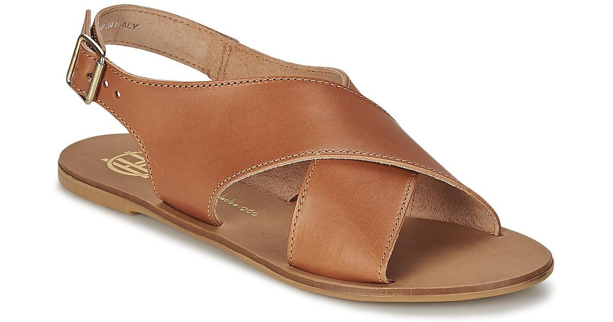 ad5d92c0327b97 House Of Harlow 1960 Izzy Women s Sandals In Brown in Brown - Lyst