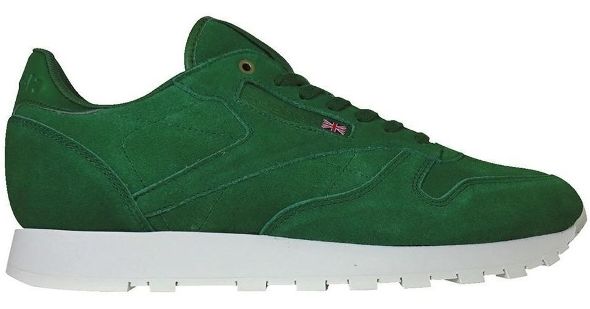 94163807a5e Reebok Classic Leather Montana Cans Collaboration Men s Shoes (trainers) In  Green in Green for Men - Lyst