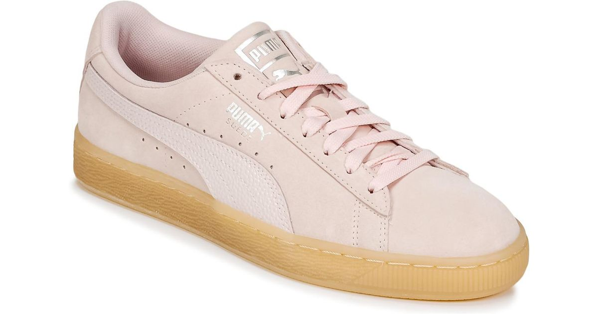 12a0d5135ed8 PUMA Suede Classic Bubble W s Women s Shoes (trainers) In Pink in Pink -  Save 1% - Lyst