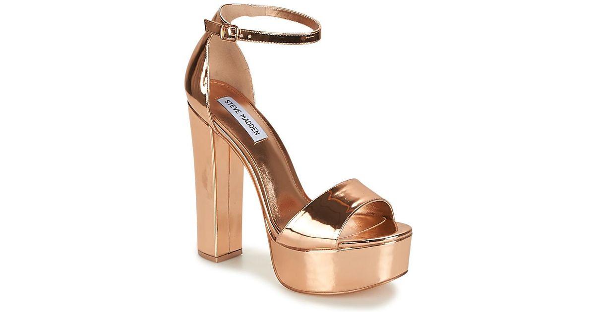 e50063aa2869 Steve Madden Gonzo Women s Sandals In Pink in Pink - Lyst