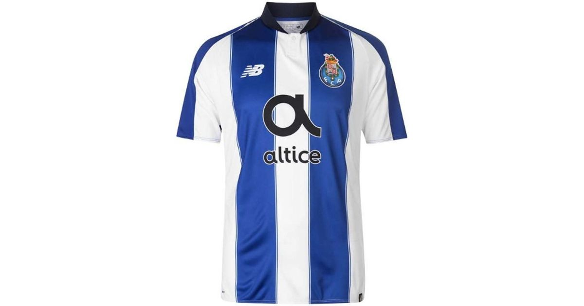 New Balance 2018-2019 Fc Porto Home Football Shirt Women s T Shirt In White  in White - Lyst c89ccd376