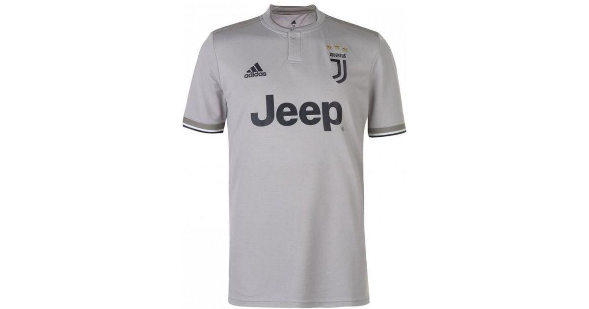 new style 3f4dd c3c25 Adidas Metallic 2018-2019 Juventus Away Football Shirt (cuadrado 7) Men's T  Shirt In Gold for men