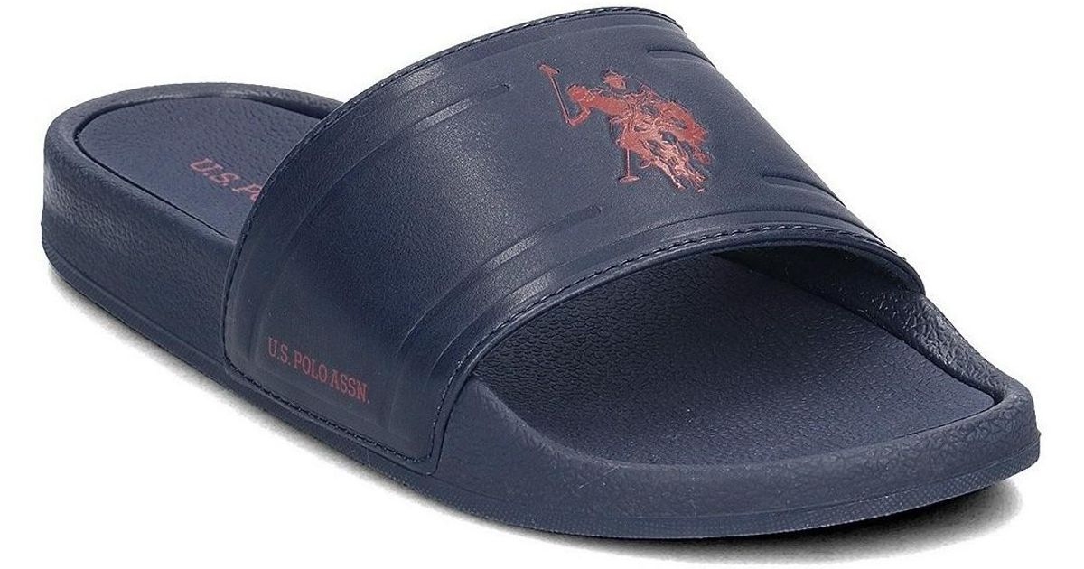 3dd5e388458e8d U.S. POLO ASSN. Fun2196s8 Men s Flip Flops   Sandals (shoes) In Multicolour  in Blue for Men - Lyst