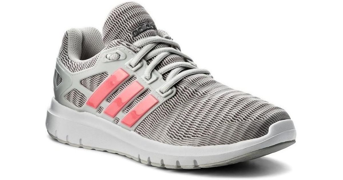 04f7078a3539 Adidas Energy Cloud Women s Running Trainers In Grey in Gray - Lyst