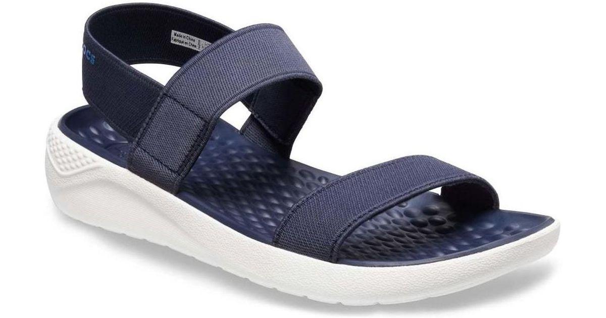 13f7d364615a Crocs™ Literide Womens Wedge Heel Sandals Women s Sandals In Blue in Blue -  Lyst