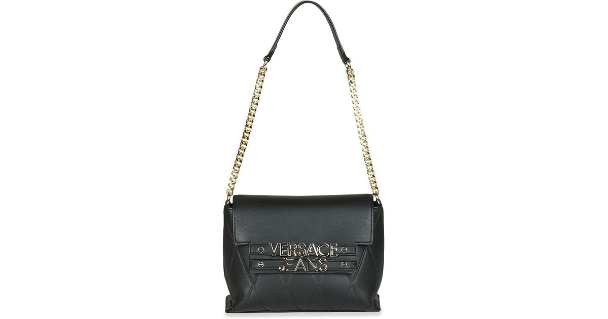62b7fbf76c Versace Jeans Purace Women's Shoulder Bag In Black in Black for Men - Lyst