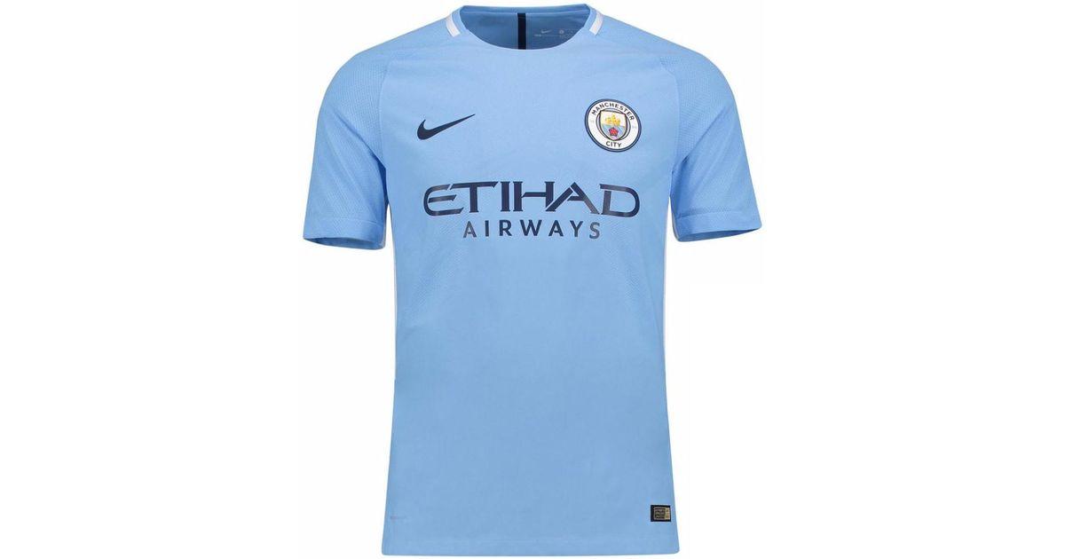 731eb043eb1 Nike 2017-18 Man City Home Shirt (silva 21) Men's T Shirt In Blue in Blue  for Men - Lyst