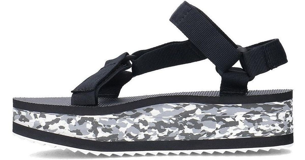 From China Sale Comfortable Teva Flatform Marbled women's Sandals in H01iL