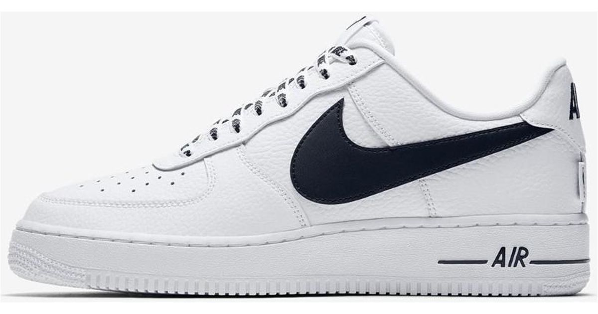 big sale 8f5e5 f5ffb Nike Air Force 1 Low 07 Lv8 Nba Pack 823511 103 Men s Shoes (trainers) In  Multicolour in White for Men - Lyst