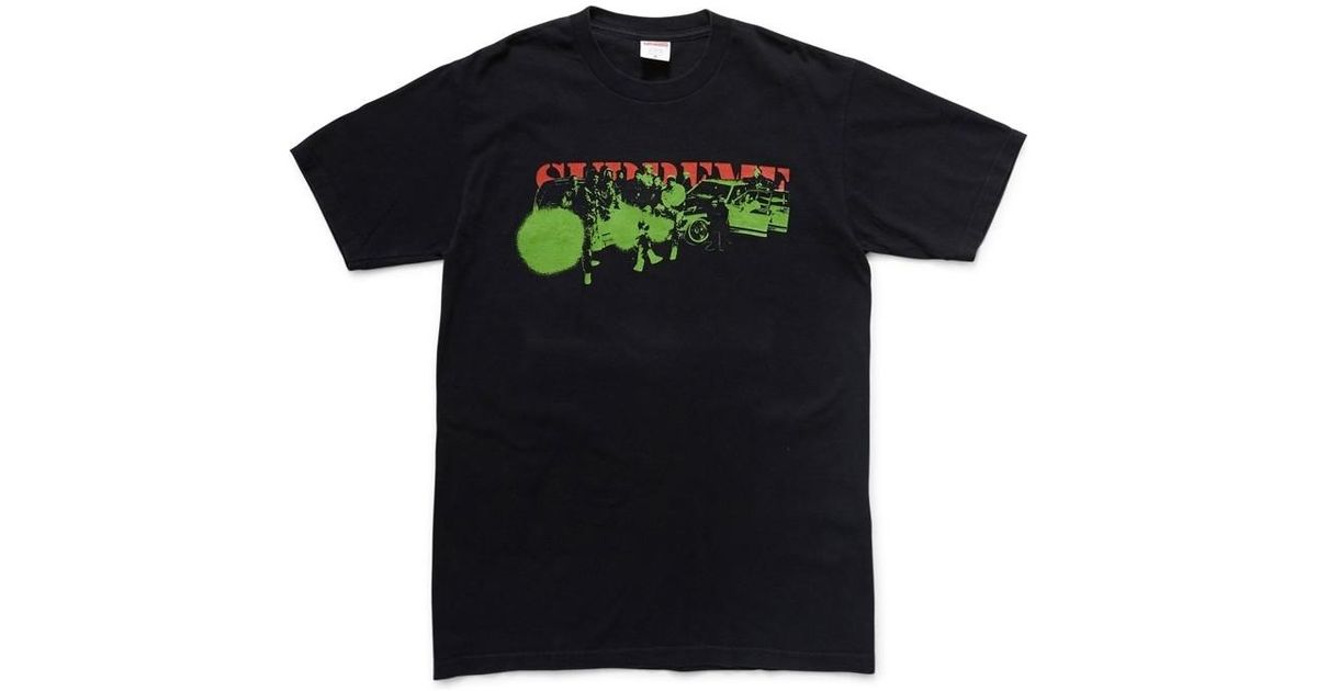 62215c3e Supreme 2001 Public Enemy Graphic T-shirt Black Men's Shirts And Tops In  Black in Black for Men - Lyst