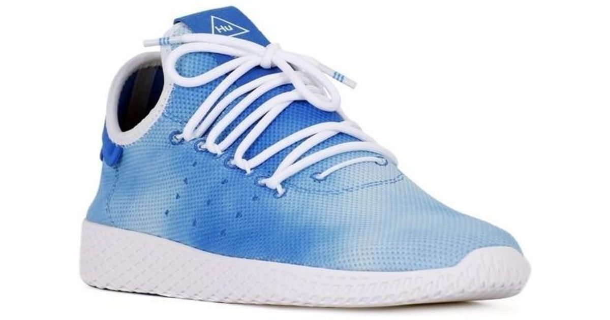 c83b2d73ea08f Adidas Pharrell Williams Tennis Hu Shoes Men s Shoes (trainers) In Blue in  Blue for Men - Lyst